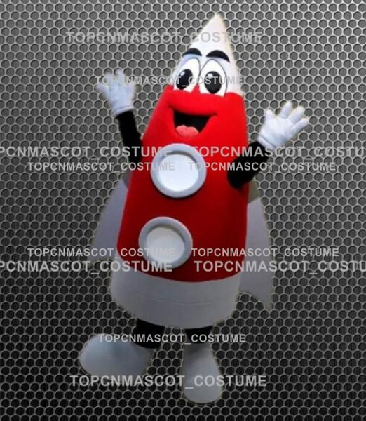 b16bfc364cfe6 Happy Red Rocket Mascot Costume Adcult Cartoon Character Aerospace Theme  Anime Cosply Costumes Mascotte Fancy Dress Mascot 103 School Mascot  Costumes ...