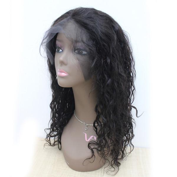 "100% Virgin Brazilian Human Hair Full Lace Wigs #1 #1B #2 #4 130% Natural Wave Full Lace Wigs 10""-30"""