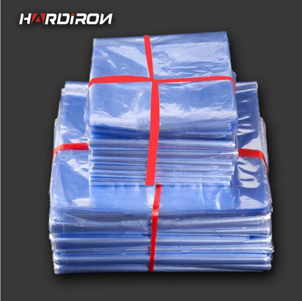 Soft Transparent Blow Molding PVC Heat Shrinkable Bags/ pvc Heat Shrink Bags/ Clear Plastic Packing Pouch
