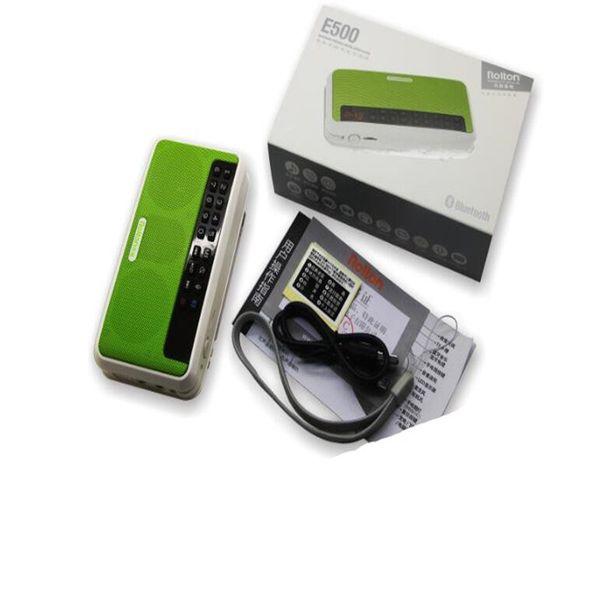 2018 new thin and light mini sound card bluetooth speaker digital karaoke machine portable radio free shipping