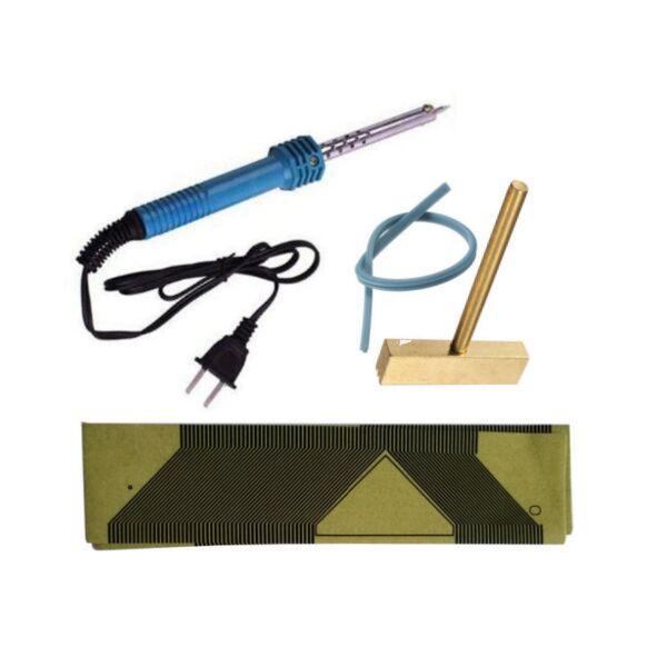 OBDDIY Peugeot Pixel Repair Tools 5pcs Peugeot 206 jaeger Ribbon Cables+1 pc Soldering Iron+T-Head+Rubber Cable