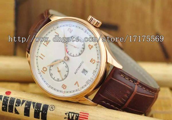 Классический ретро роскошный бизнес точный импортный многофункциональный автоматический механический календарь назад водонепроницаемый иглы пряжки пояса мужские часы