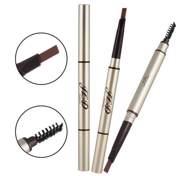 Nueva Impermeable Lápiz de Cejas Automático Lápiz Ceja de ojos sobrancelha Liner Maquillaje Herramienta de Belleza de larga duración lápices de colores