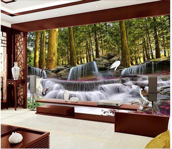 Compre 3d Habitacion Papel Tapiz Personalizado Foto Mural Sueno Cae