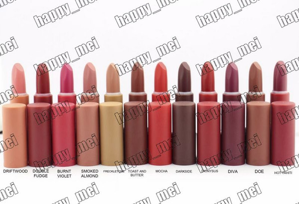 best selling Factory Direct DHL Free Shipping New Makeup Lips M5544 Matte Lipstick!12 Different Colors