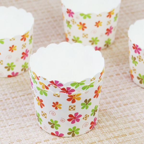 150pcs/Lot Flowers Animal Design Cupcake Wrappers High Temperature Muffin Baking Cups Greaseproof Paper Cupcake Liner