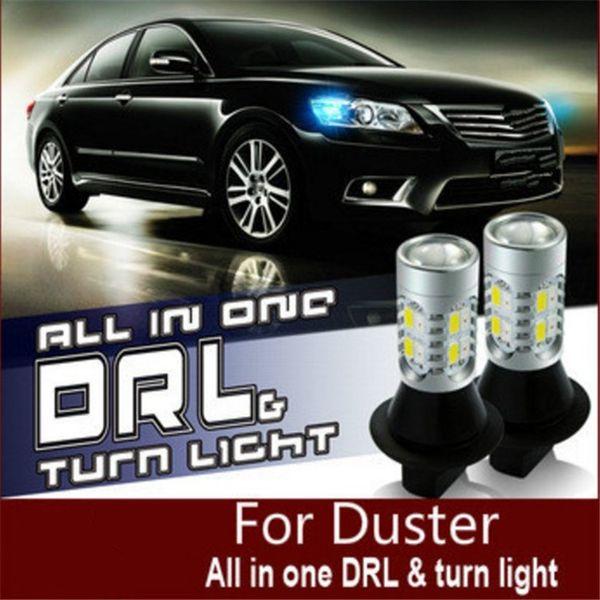 Car Light Led Daytime Running Lights With Turning Signal Light Drl - Car signal light
