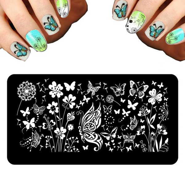 Wholesale 2016 New Set Nail Stamping Plates Fashion Designs Nail Art ...