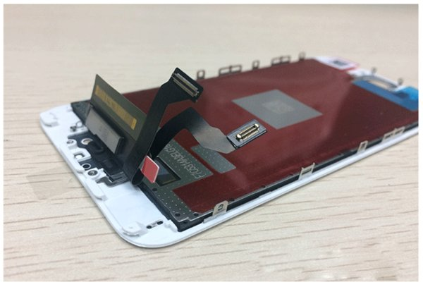 "Factory price 5.5"" Touch Digitizer & LCD Screen Replacement Assembly for iPhone 6s plus LCD Touch White Black"