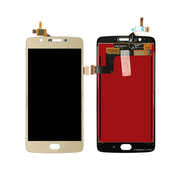 """New 5"""" LCD Display +Digitizer Touch Screen For Motorola For Moto G5 xt1670 XT1672 Assembly Mobile Phone Parts For MOTO G5 +free shipping"""