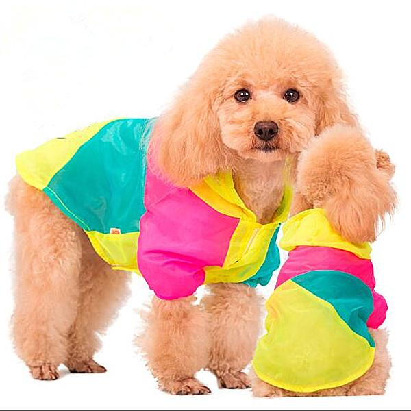 The dog sunscreen clothing thin soft sunscreen sunscreen clothing color matching pet mosquito Teddy VIP Bichon spring and summer clothes
