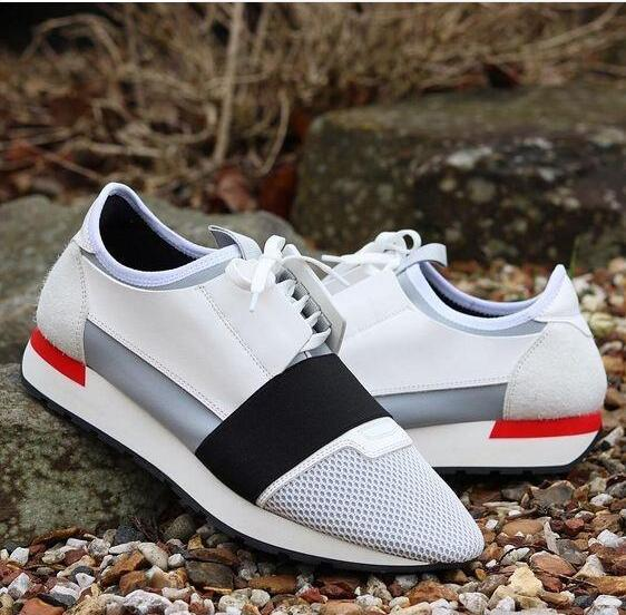 2018 Unisex Run Man Woman Casual Shoes Fashion Good Quality Mixed Colors Low Cut Lace-up Zapatos Mujer Race Runner Shoes Outdoors