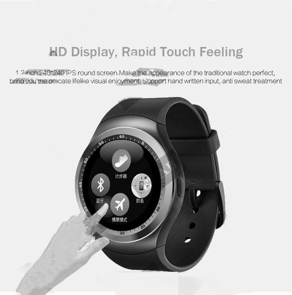2017 Newest Design S6 Bluetooth 4.0 Smart Watch Sleep Monitor Anti-lost Heart Rate Monitor Pedometer Smartwatch for IOS Android