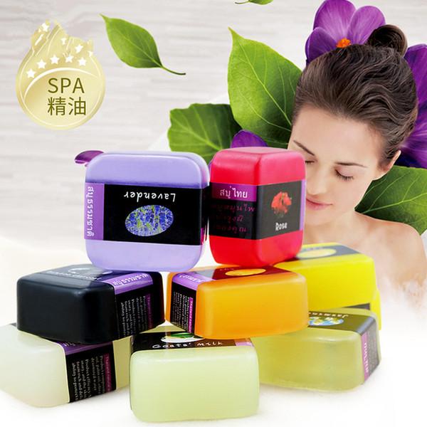 70g Pure natural Rose essential oil Rose Handmade Soap Whitening Skin Moisturizing Reduce melanin Cleansing Bamboo Moisturizing Bath Soap