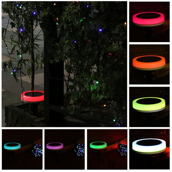 Remote Control Solar Power Colorful outdoor LED Christmas String Light Garden Lawn Holiday party festival fairy string lights