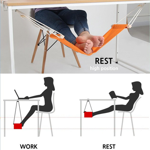 Hammock for Office Siesta Afternoon Sleep Nap with Desk Hanger Hammock Rest Foot Noon Time Snooze Outdoor Furniture