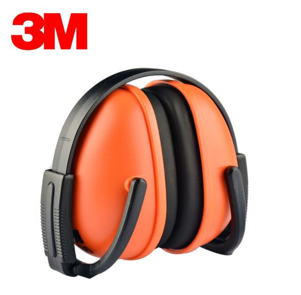 top popular 3M Soundproof Earmuffs Sleeping Sleep Industrial Learning Mute Headphones Professional Shooting Silencer Noise Reduction Noise Reduction 2019