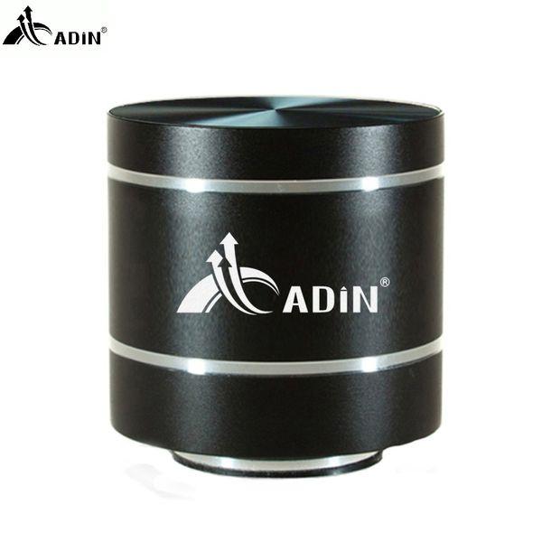 Vente en gros- 2017 ADIN HIFI Métal Vibration Haut-parleur Mini Portable 5W Intelligent Télécommande Subwoofer Petits Haut-parleurs TF Basse FM Radio Haut-parleurs
