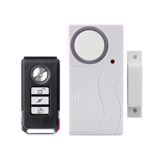 Telecomando tempestivo Allarme antifurto Home Security Door Window 105 dB Sirena Sensore magnetico Sistema di allarme Rilevatore
