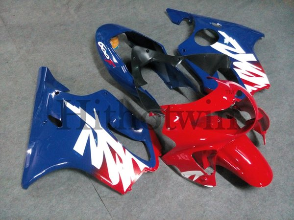 Body Kit blue red ABS Fairing For honda CBR600F4 1999-2000 F4 99 00 Aftermarket Motorcycle