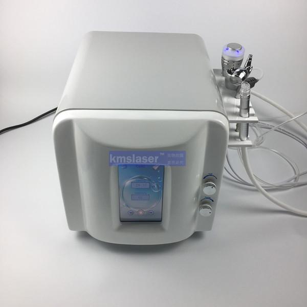 Bomba de mudo alemão sem tela de toque noice 5 em 1 dermbrasion água Martelo frio RF hydra facial máquina de rejuvenescimento da pele de alta vácuo