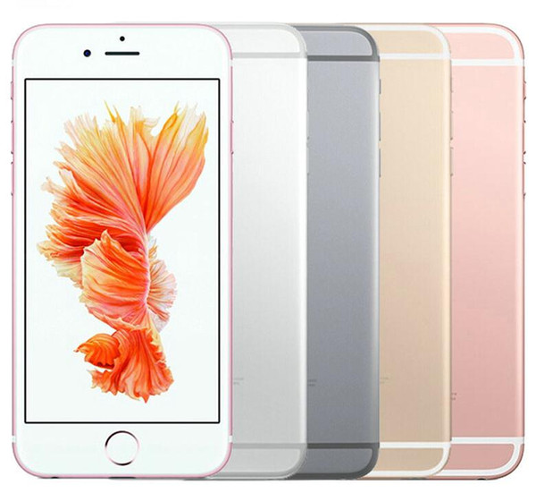 Original Apple iPhone 6S With/Without Touch ID Dual Core 16GB/64GB/128GB IOS 11 4.7 Inch 12MP Refurbished Phone