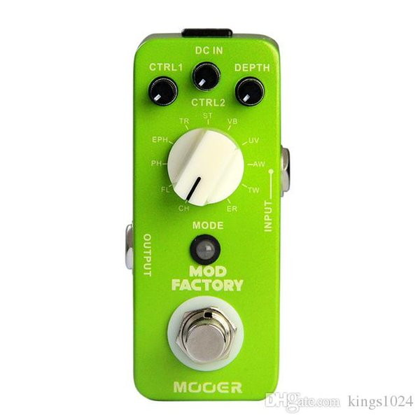 2017 high quality new Mooer Mod Factory Modulation Collected 11 kinds of classic modulation Guitar pedals