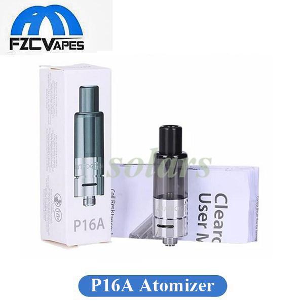 Auténtico Justfog P16A Atomizer 1.9ml Bottom Relleno E Cigarrillo Vape Tank con Organic Cotton Coil 510 Thread 100% Original