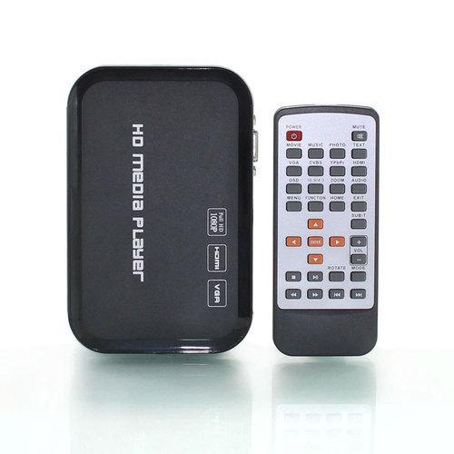 Wholesale- Free Shipping!3D 1080P HD Media player,support Blueray HDMI,VGA,AV,MKV,H.264 SD MMC USB external hdd media player
