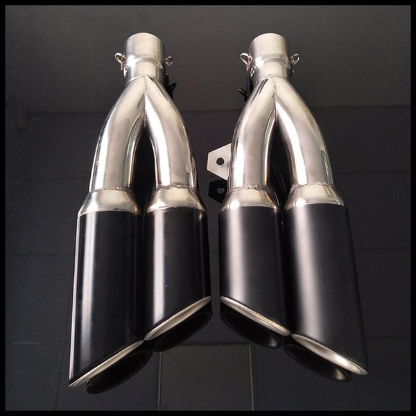 38- 51 mm Universal Motorcycle Exhaust Pipe Stainless Steel With Moveable DB Killer Fit Most Motorbike