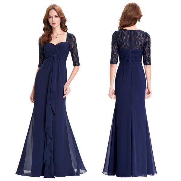 Elegant Navy Blue Dresses