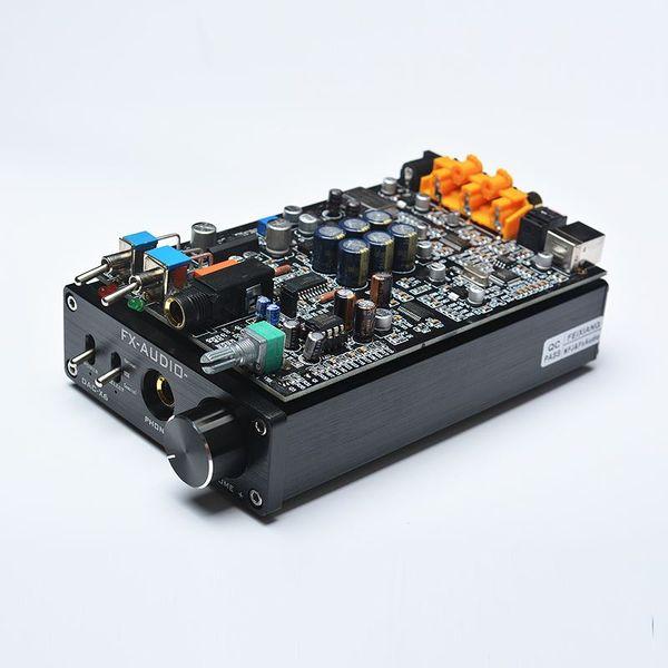 Freeshipping FX-AUDIO DAC-X6 HiFi 2.0 Digital Audio Decoder DAC Input USB/Coaxial/Optical Output RCA/Headphone Amplifier 16Bit/192KHz DC12V