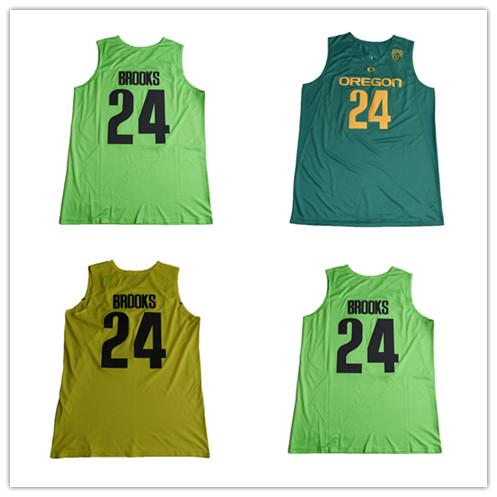 sale retailer 7ea6a c4f10 2018 24 Dillon Brooks Jersey Cheap Stitched Green Yellow 2017 Oregon Ducks  College Dillon Brooks Basketball Jerseys Uniform Free Drop Shipping From ...