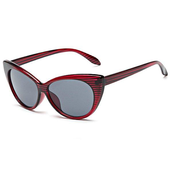 Purple Red Frame Grey Lens