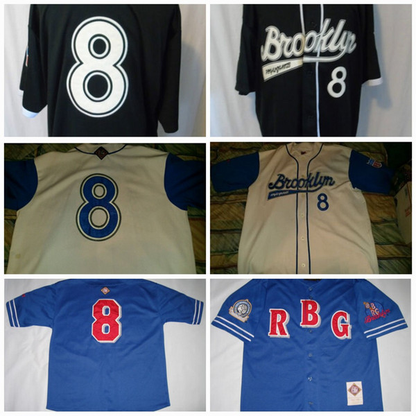Men's Brooklyn Royal Giants Jersey Official Apparel Negro League baseball Jerseys 100% Stich Free Shipping S-3XL Mix Order
