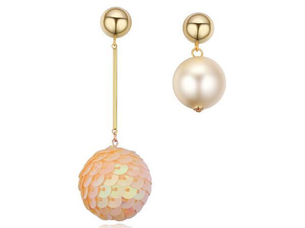 2017 New Arrival Romantic Styling Jewelry, Lady Shining Drop Earrings, Best friend mikuan Earrings