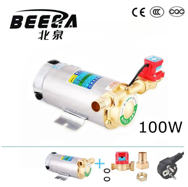 top popular 100W Automatic hot water booster pump for solar water heater circulating pump with CE 2021