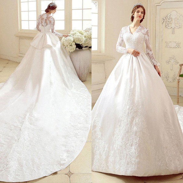 Venta al por mayor 2017 vestidos de boda por encargo del vestido de ...