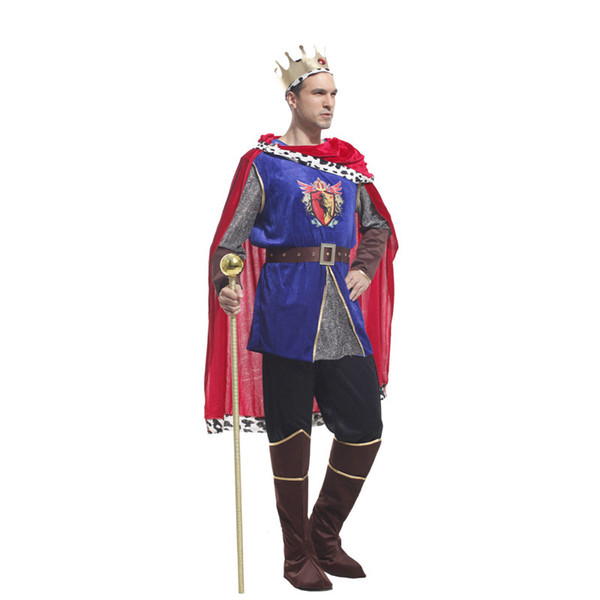 Shanghai Story Arab Prince brilliant king Cosplay costumes Men Halloween Costumes Masquerade Party clothing for man size S M