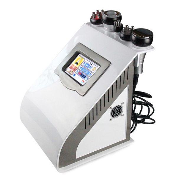 Professionelle tragbare Ultraschall Fettabsaugung 40 K Kavitation Vakuum multipolare RF Schönheit abnehmen Maschine für Salon mit CE-Zulassung