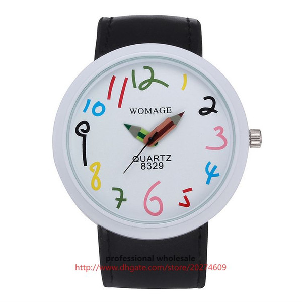 Black (White Watch frame)