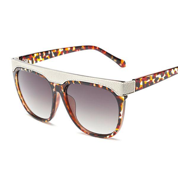 Brand Designer Bar Sunglasses For Men Women Metal Funky Glasses ...