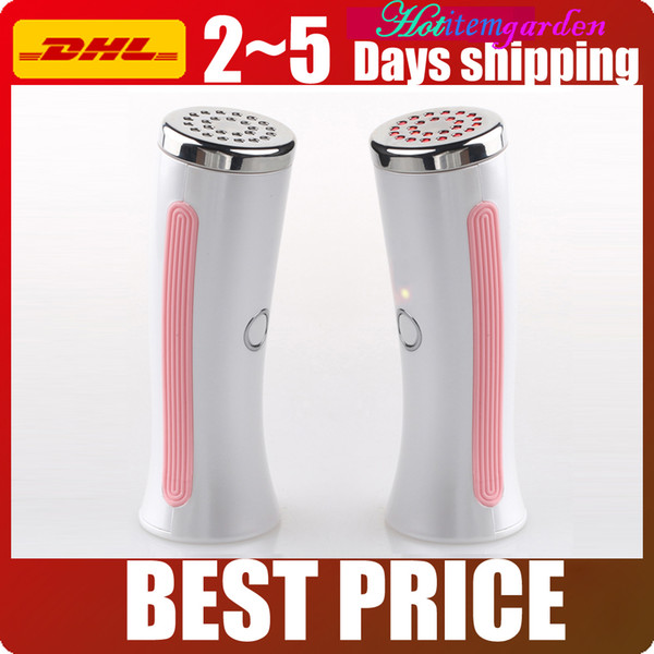 Portable Red Light Led Photon Infrared Skin Heating Therapy Handheld Beauty Device For Facial Lifting Skin Rejuvenation Anti-aging Machine
