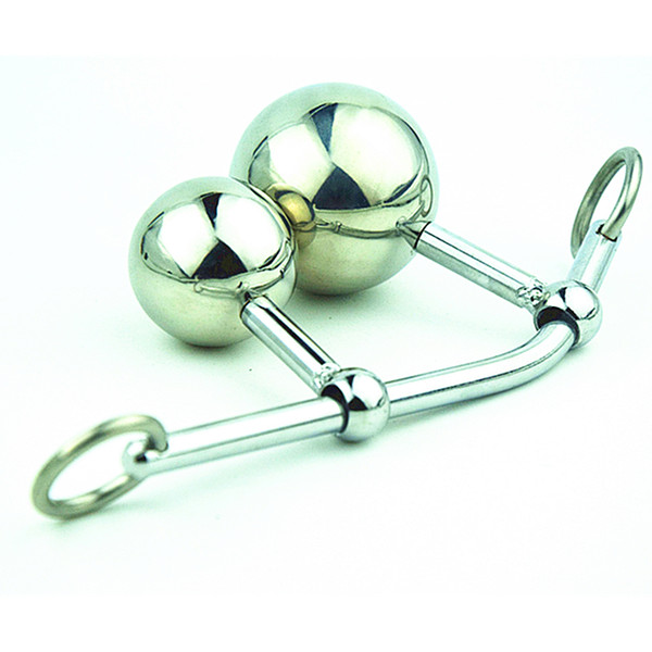 Anale femminile Vagina doppia palla spina in acciaio cintura di castità corda anale gancio bondage giocattolo del sesso per le donne di bloccaggio cintura di castità