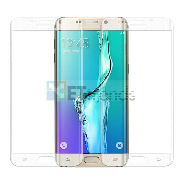 For Samsung Galaxy S6 Edge Plus 0.2MM Full Screen Tempered Glass Protector Curved Screen Protector With Crystal Retail Package DC0509
