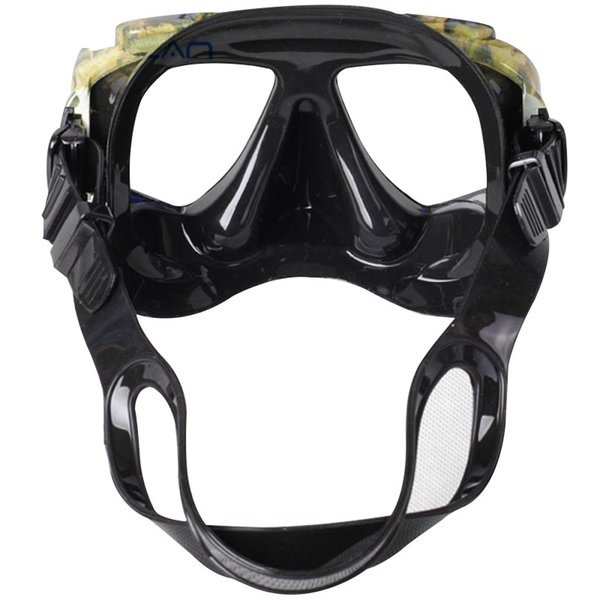 All'ingrosso-Professionale KEEP DIVING Disguise Camouflage Scuba Dive Mask Myopic Lens ottico Snorkeling Gear Pesca subacquea Swim Goggles