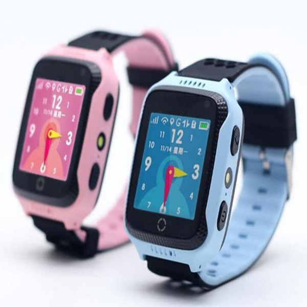 """1.44"""" colorful touch screen GPS Smart Watch Wristwatch SOS Call Location Device Tracker for Anti Lost Monitor Baby Gift PK Q50 Q60 DHL fast"""
