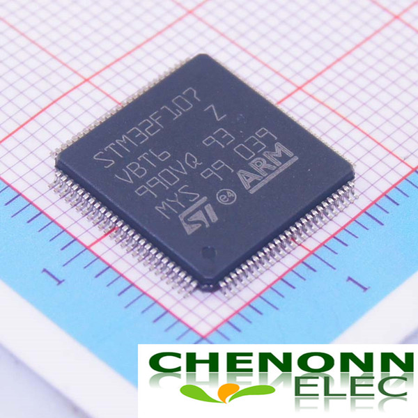 Free shipping STM32F107VBT6/LQFP-100_14x14x0... 100% New Original Brand ST Best quality and competitive price fast delivery