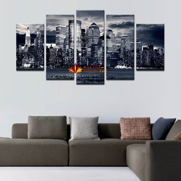 2019 Canvas Prints Wall Decor Canvas Home Decoration Wall Art Pictures Landscape Large Canvas Art Cheap Modern Abstract Oil Painting O From