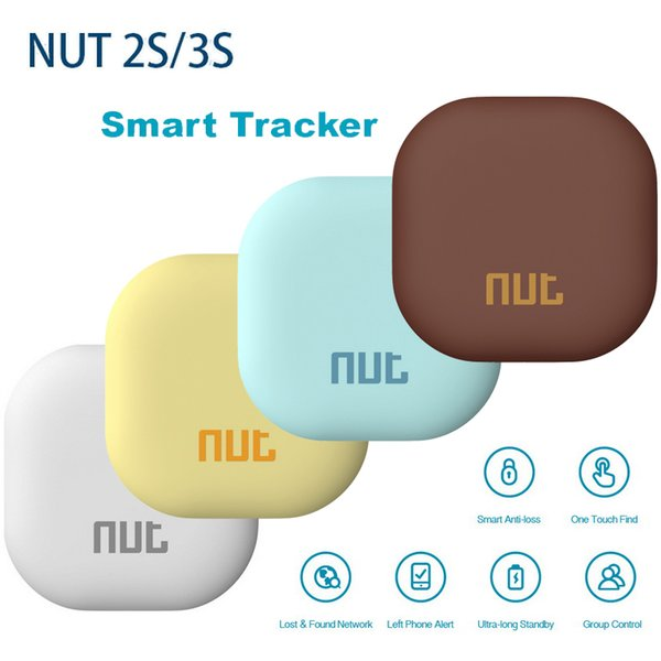 Dado 3 Nut3s Ricerca intelligente multifunzione WiFi Bluetooth Tracker Localizzatore Portafoglio Telefono Chiave Allarme anti-smarrimento Nuovo NUT2 Dado 2s